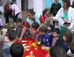 Велигденски базар во детската градинка  Рада Поцева