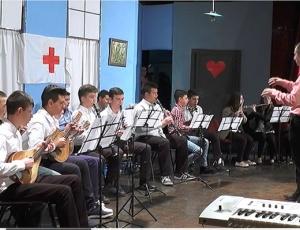 Хуманитарен концерт организиран од учениците во  Тоде Хаџи Тефов