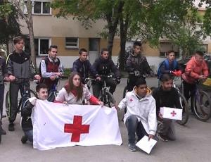 Хуманитарна акција на Црвен Крст и  Тиквешки точакџии