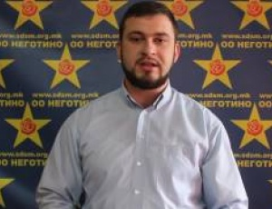 СДСМ  Отчетот на градоначалникот Апостолов очаен празен настап